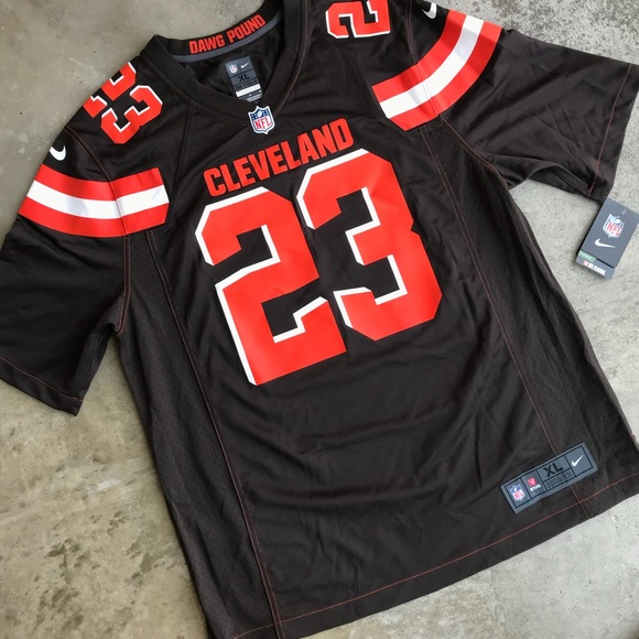 buy popular 717f9 0f9ad NWT Nike Joe Haden Cleveland Browns NFL jersey NWT